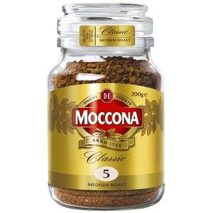 Coffee Moccona Classic Medium Roast Jar 200g