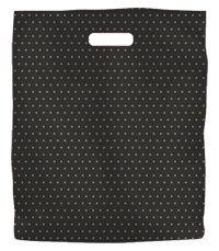 BD Bag Black Gold Dots Large