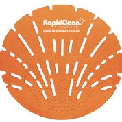 Urinal Screen Rapid Clean Sunburst Orange