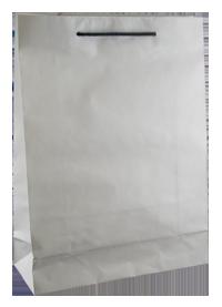 BD Deluxe White Small Kraft Bag