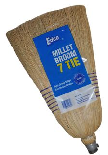 Edco Millet Broom with Handle