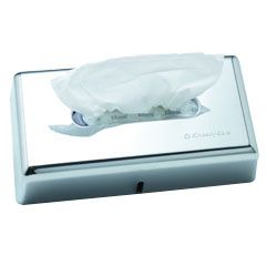 Facial Tissue Dispenser/Tissue Box Cover Chrome