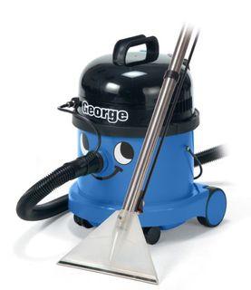 Intervac George Wet/Dry Vacuum 15Lt Dry/9Lt Wet Blue 32mm