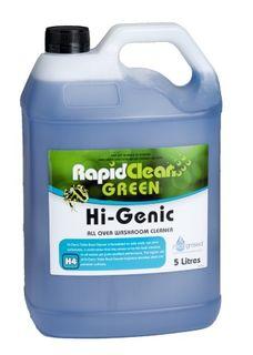 Hi Genic Rapid H4 Toilet & Washroom Cleaner 5L