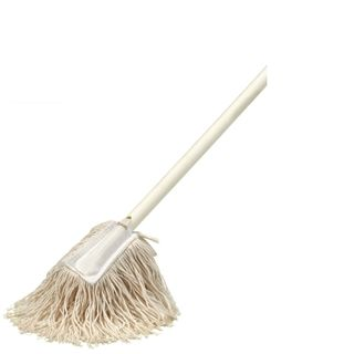 Hand Dust Mop White with Handle 900mm