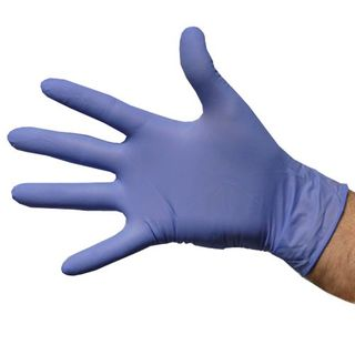 Glove Vinyl Blue Small Pkt 100