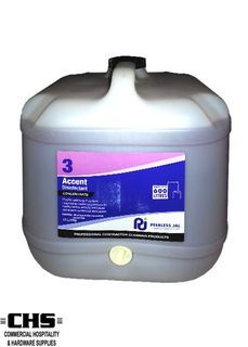 Accent Musk Commercial Grade Disinfectant (3) 15L