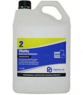 Vitality Washroom Cleaner (2) 5L