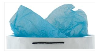 Tissue Paper Light Blue 75x50cm