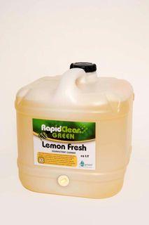 Lemon Fresh Disinfectant Rapid 15L