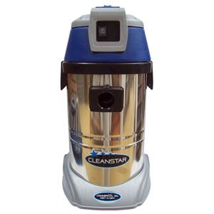 Cleanstar Commercial Wet/Dry S/Steel Vacuum Cleaner 30Lt