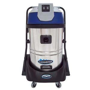 Cleanstar Commercial Wet/Dry S/Steel Vacuum Cleaner 60Lt