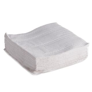 Lunch Napkin White 2 Ply Pkt 100