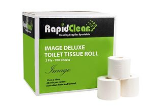 Toilet Roll Rapid Clean 2 Ply 700 Sheet Ctn 48