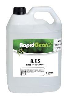 RFS Rinse Free Sanitiser RTU 5L