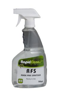RFS Rinse Free Sanitiser RTU 750ml