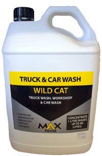 Wild Cat Car & Truck Wash 5Lt