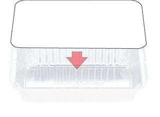 Foil Container Lid 7119 Slv500 (C-LI445/446PP)