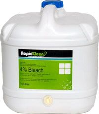 Bleach 4% 15Lt Rapid