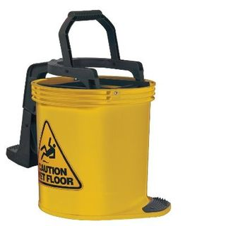 Mop Bucket Plastic 15Lt Yellow