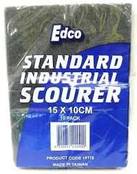 Scourer Green Flat 15x10cm  Each 18115