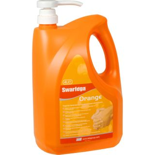 Deb Swarfega Orange 4Ltr Heavy Duty Hand Cleaner