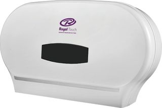 Jumbo Royal Touch TWIN Dispenser White 33412