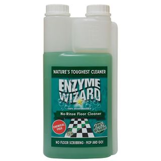 Enzyme Wizard No Rinse Floor Cleaner 1L EMPTY Spray Bottle