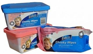 Edco Cheeky Baby Wipes Ctn 10x80
