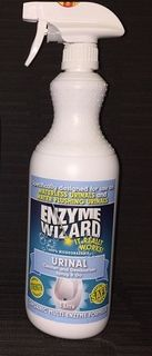 Enzyme Wizard Urinal Cleaner 1Ltr EMPTY BOTTLE With Trigger