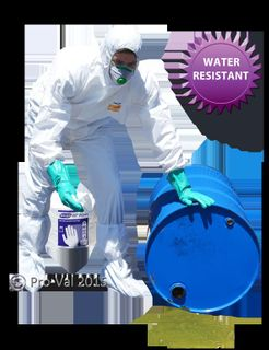 HAZGUARD MP5 - Water Resistant, Microporous Speciality Coverall XLarge Ctn 25