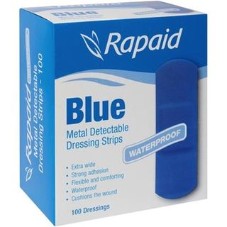 Bandaid Blue Pkt 100