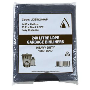 Garbage Bag 240Lt All Purpose Ctn100