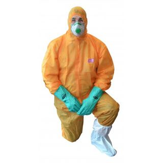 HAZGUARD Polypropylene Single Layer Coverall with hood, breathable XXXL CTN 50