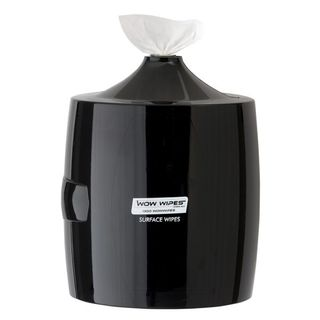 Wow Wipes Wall Mounted Dispenser - Black