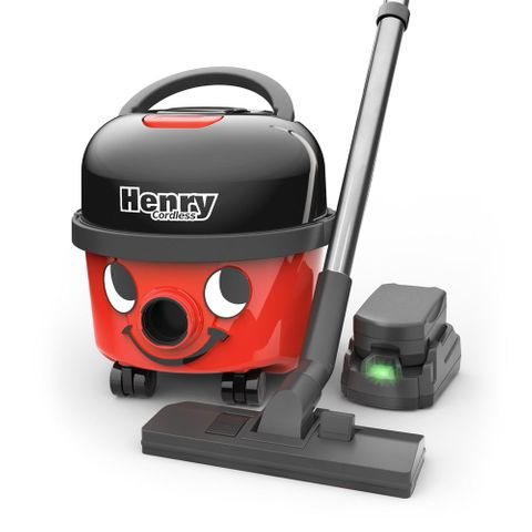 Henry Vacuum Cleaner Cordless - 2 Batteries