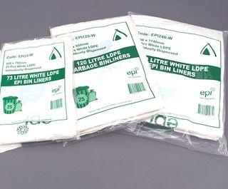 Garbage Bag 82Lt EPI White Ctn 250