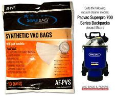 Vacuum Bag Synthetic PacVac Pkt 10 ( Suit Superpro)