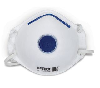 Paramount P2 Disposable Respirator With Valve Box of 12