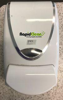 Deb Dispenser Chrome Border RapidClean 1Lt
