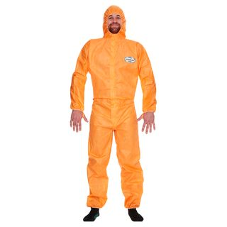Kleenguard A20RG Coveralls Orange Large Ctn 25