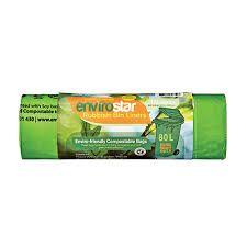 Compostable Bin Liner Green 55Lt Roll 30