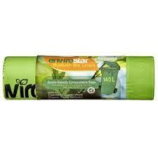 Compostable Bin Liner Green 140Lt Roll 12