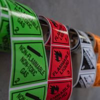 Classification of Dangerous Goods Labelling For The Workplace