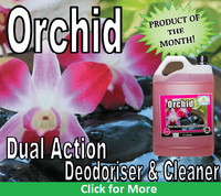 """Orchid"" and its Function - Cleaning Deodoriser"