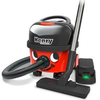 Meet Henry, the Cordless Vacuum Cleaner