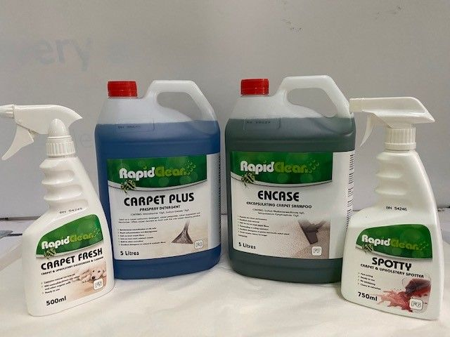 Rapid Clean Carpet Cleaning Chemicals