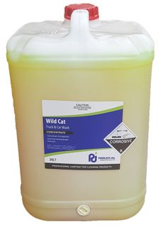 Wild Cat Car & TruckWash Concentrate-25L