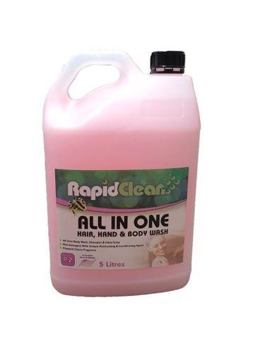 140540 Body Wash, Shampoo & Conditioner
