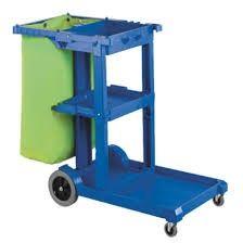 Janitors Cart Mark 2 Rapid Brand